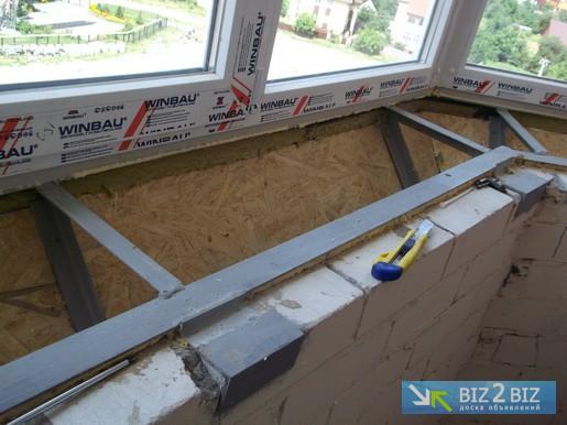 Выносной балкон в киеве от 3м, киев - biz2biz.